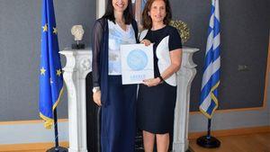 Συνάντηση Κουντουρά με την Πρέσβη του Λιβάνου για την ενδυνάμωση της τουριστικής συνεργασίας