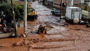 Μάνδρα: Σε εξέλιξη τα έργα αποκατάστασης των ζημιών από τις πλημμύρες