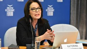 H Κατερίνα Ναυπλιώτη – Παναγοπούλου σύμβουλος του πρωθυπουργού για τον Ελληνισμό της Διασποράς