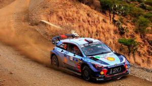 H Hyundai στο βάθρο του Rally Mexico