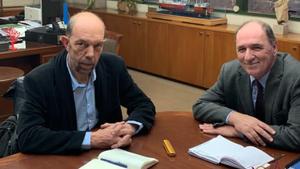 Συνάντηση Σταθάκη με τον υποψήφιο δήμαρχο Πειραιά, Νίκο Μπελαβίλα