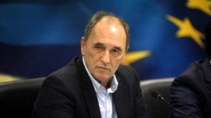 Σταθάκης: Συνάντηση με τον Ιταλό Υπουργό Εξωτερικών Πάολο Τζεντιλόνι