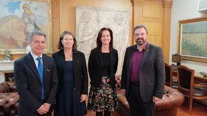 Συνάντηση του Υπουργού Αγροτικής Ανάπτυξης και Τροφίμων με αυστραλιανή αντιπροσωπεία