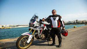 Έλληνας δημοσιογράφος θα επιχειρήσει να διασχίσει το δρόμο του μεταξιού με μια μοτοσικλέτα