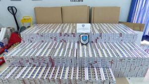 Κατασχέθηκαν 20.600 πακέτα λαθραία τσιγάρα