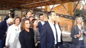 Συνάντηση Τσίπρα με νέους επιχειρηματίες στον Βόλο