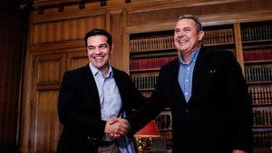 Συνάντηση Τσίπρα - Καμμένου: Τι συζήτησαν για οικονομία και συμφωνία Πρεσπών