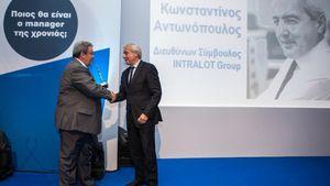 Ο Κωνσταντίνος Αντωνόπουλος Manager of the Year 2013