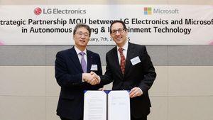 "LG και Microsoft συνεργάζονται για να ""φέρουν επανάσταση στην αυτοκίνηση"""