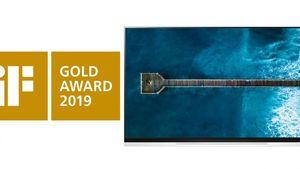 Η LG OLED τηλεόραση διακρίθηκε με το Χρυσό iF Award για τον σχεδιασμό της