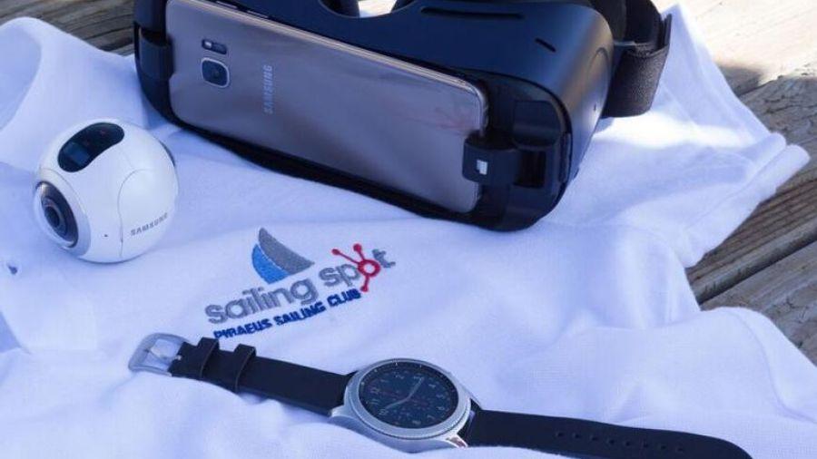 Samsung: Συνεργασία με το Sailing Spot