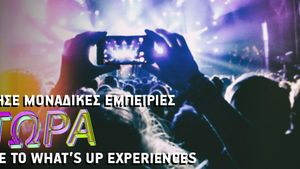 WHAT'S UP Experiences: H νέα πλατφόρμα εμπειριών από το WHAT'S UP