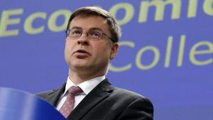 """Ντομπρόφσκις σχετικά με """"ταμείο ανασυγκρότησης"""": Δεν επιστρέφει φυσικά η Τρόικα"""