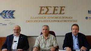 Συνάντηση προέδρων ΓΣΕΕ-ΓΣΕΒΕΕ-ΕΣΕΕ-Τι συζητήθηκε