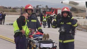ΕΚΑΒ: Επιτυχημένη η συμμετοχή στην άσκηση της Fraport Greece στο αεροδρόμιο ''Μακεδονία''