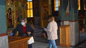 Χριστουγεννιάτικη Θεία Λειτουργία - Συμμετοχή πιστών υπό αυστηρούς όρους