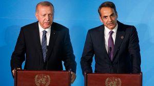 Την Τετάρτη η συνάντηση Μητσοτάκη - Ερντογάν