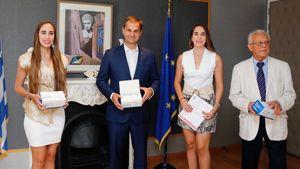 Πρέσβειρες Ελληνικού Τουρισμού στην Κίνα η Μαριάννα και η Σοφία Ερωτοκρίτου