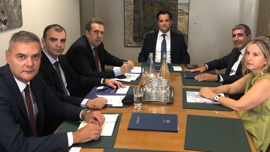 Συνάντηση Γεωργιάδη με τον Πρόεδρο της ΕΣΕΕ