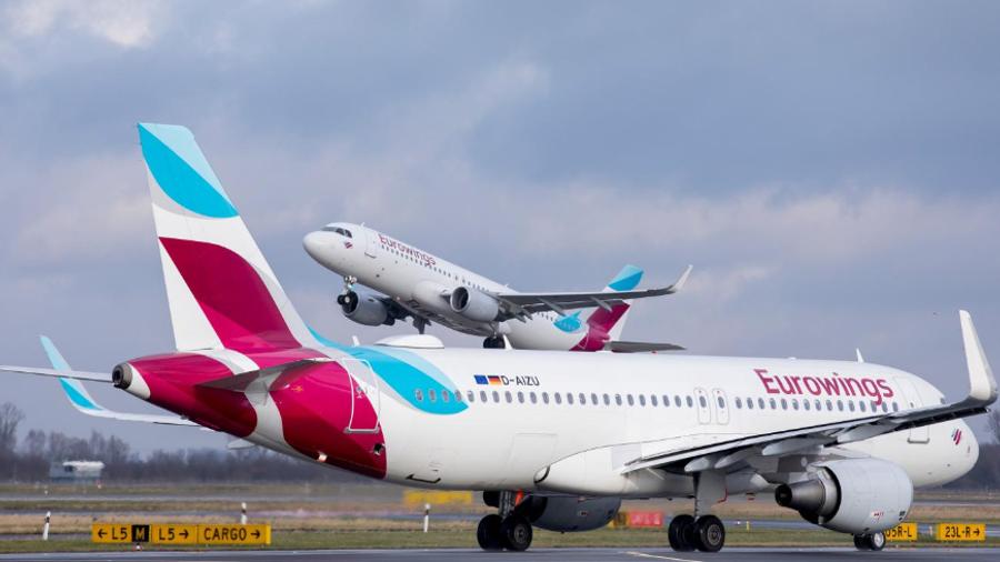 Eurowings: Νέες απευθείας πτήσεις για Ελλάδα από Στουτγάρδη και Ντίσελντορφ το 2020