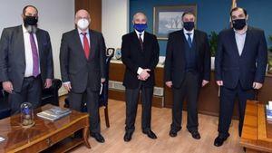 Επικοδομητική συνάντηση του Ε.Β.Ε.Π με την πολιτική ηγεσία του Υπουργείου Ναυτιλίας