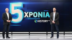 COSMOTE HISTORY: Έκλεισε 5 χρόνια το κανάλι της ελληνικής ιστορίας και του πολιτισμού
