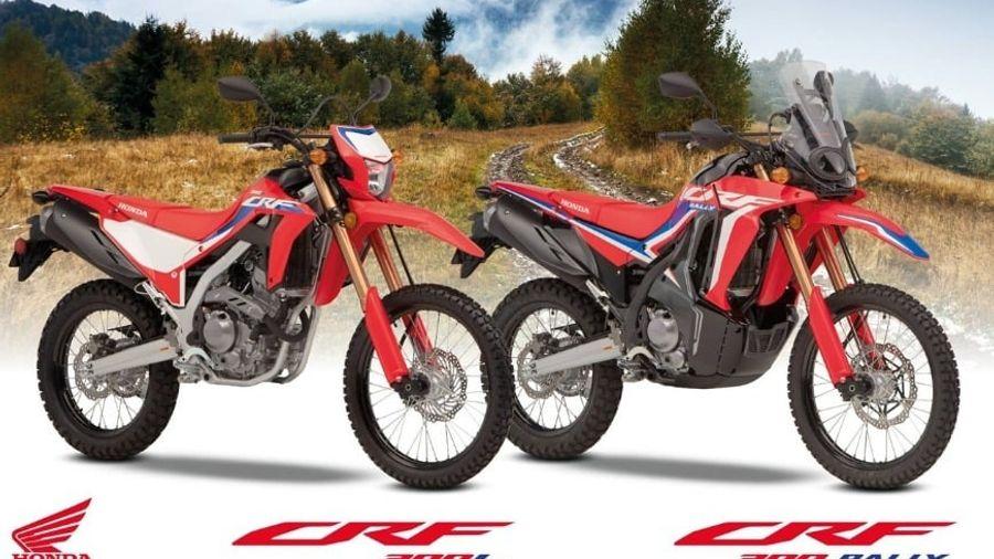 Honda CRF300L & CRF300 RALLY: Οι νέες Οn-Οff δέχονται σημαντικές αναβαθμίσεις για το 2021