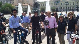 Ι.Ο.ΑΣ. «Πάνος Μυλωνάς»: Οι Δήμαρχοι γιόρτασαν την Παγκόσμια Ημέρα Ποδηλάτου