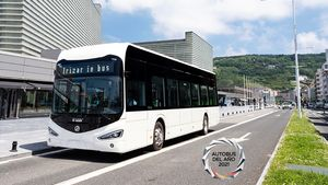 Το Λεωφορείο Irizar ie κέρδισε το βραβείο Λεωφορείο της Χρονιάς 2021