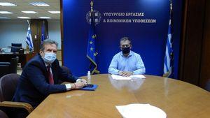 Συνάντηση ΕΣΕΕ με Υπουργό Εργασίας-Τι συζητήθηκε