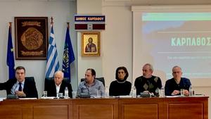 M. Kόνσολας: Στρατηγικό σχέδιο τουριστικής ανάπτυξης για την Κάρπαθο με 7 άξονες