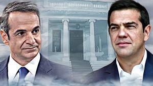 Tσίπρας σε Μητσοτάκη: Απολύτως απαραίτητη η χάραξη εθνικής στρατηγικής