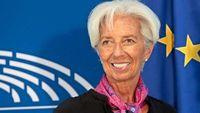 Λαγκάρντ: Υποτονικές οι πληθωριστικές πιέσεις στην ευρωζώνη