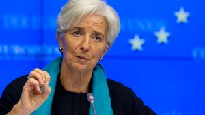 Λαγκάρντ: Κάνει έκκληση στις δημοσιονομικές Αρχές για να μη περιέλθει σε ύφεση η οικονομία