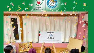 """Ολοκληρώθηκε η ενέργεια """"Share the Love"""" της l'artigiano για «Το Χαμόγελο του Παιδιού»"""