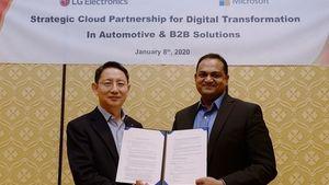 Η LG επιταχύνει την B2B καινοτομία μέσω της συνεργασίας της με την Microsoft