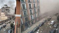 Ισπανία - Εκδηλώθηκε ισχυρή έκρηξη στο κέντρο της Μαδρίτης, δύο νεκροί