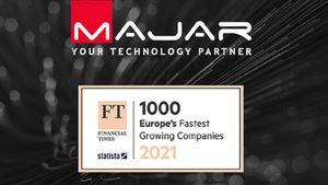 MAJAR: Στις 1000 ταχύτερα αναπτυσσόμενες εταιρείες της Ευρώπης