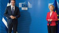Μητσοτάκης-Φον ντερ Λάιεν: Η Τουρκία να προβεί σε διάλογο με Ελλάδα και ΕΕ