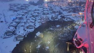 Νορβηγία: Mεγάλη κατολίσθηση από χιονοστιβάδα
