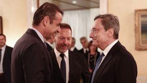 Συνάντηση Μητσοτάκη-Ντράγκι για κόκκινα δάνεια, μεταρρυθμίσεις και επενδύσεις