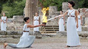 Χωρίς θεατές η Τελετή Αφής της Ολυμπιακής Φλόγας στην Αρχαία Ολυμπία