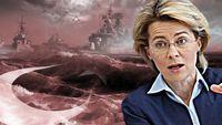 Ούρσουλα φον ντερ Λάιεν: Θετικό βήμα η αποχώρηση των τουρκικών πλοίων