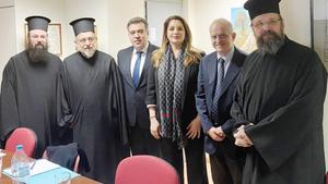 Συνεδρίαση κοινής επιτροπής Εκκλησίας και Υπ. Τουρισμού για τον θρησκευτικό τουρισμό