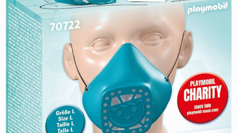 PLAYMOBIL: Παρουσιάζει το επαναχρησιμοποιούμενο «Κάλυμμα Μύτης και Στόματος»