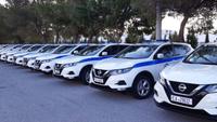 Ενίσχυση του στόλου περιπολικών της Ελληνικής Αστυνομίας με Nissan QASHQAI