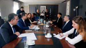 Επίσκεψη Pololikashvili στην Αθήνα - Συνάντηση με φορείς και την ηγεσία του υπ. Τουρισμού