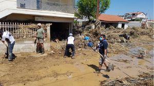 Πρόσκοποι: Δυναμική υποστήριξη στους πληγέντες στην Εύβοια