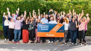 Ευρωπαϊκή διάκριση του Public στα European Business Awards 2019