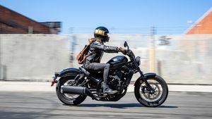 Honda Moto: Η Honda παρουσιάζει τη νέα CMX1100 Rebel